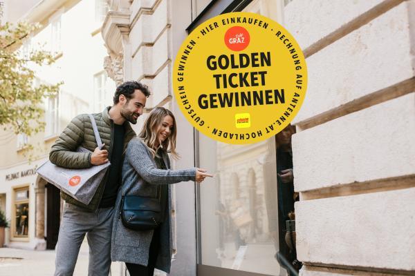 Golden Ticket Gewinnspiel mit der Antenne Steiermark