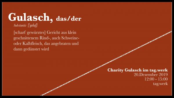 Charity Gulasch im tag.werk