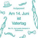 Am 14. Juni ist Vatertag - tag.werk schenkt euch die Liefergebühren